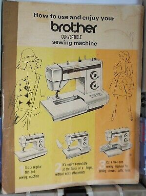 Original BROTHER XL-5001 Convertible Sewing Machine Instructions