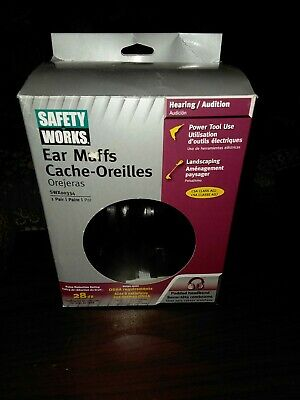 SAFETY WORKS INC Pro Ear Muffs SWX00334