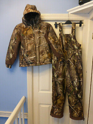 0837d71a6ca2b Rocky Realtree Camo Fishing Hunting 2 Piece Set For Small Adult Or Junior