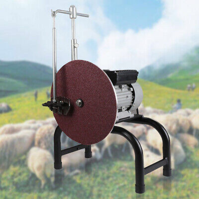 Electric Sheep Clipper Blade Sharpener Goat Shears Grinder Grinding Machine 26cm