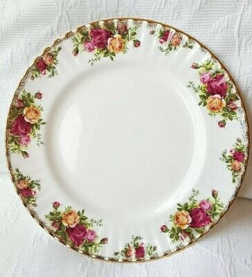 Royal Albert Old Country Roses Pattern Dinner Plates x 5
