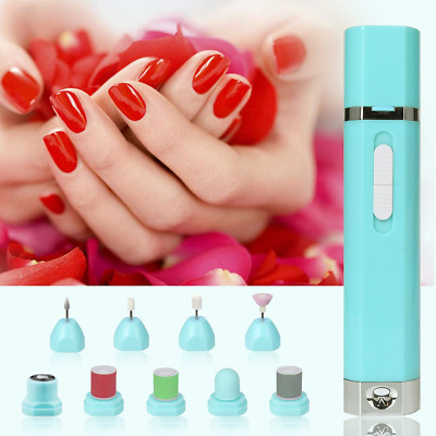 9-in-1 Electric Nail File Nail Drill Machine Multifunctional Manicure & Pedicure