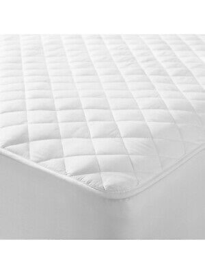 Extra Deep Fitted Mattress Protector Quilted Mattress Topper Bed Cover All Sizes