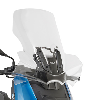 Bmw C 400 X 2019 SCREEN Touring WINDSCREEN GIVI 5130DT + D5130KIT support kit