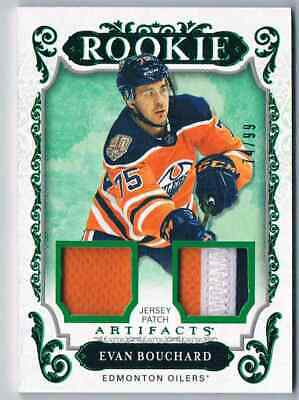 2018-19 Artifacts Materials Emerald Came With Redemed Card Evan Bouchard Rookie