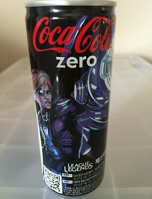 Coca-Cola Coke Zero Animation League of Legends Can Soft Drink (Empty)