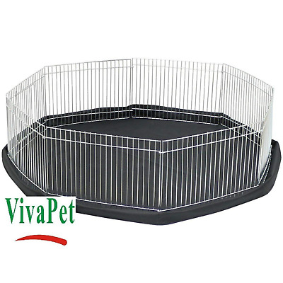 Play Pen Cage For Small Pet Rabbit Puppy Kitten Guinea Pig Hamster Animal Rat