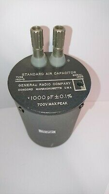 578) General Radio Company, Standard Air Capacitor Type 1401-D