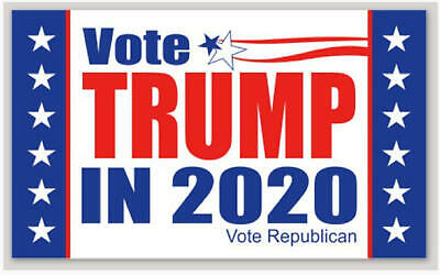 5 pack USA vote MAGA Donald Trump President Deplorable 2020 DECAL