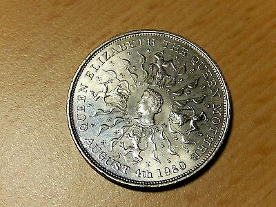 Elizabeth the Queen Mother 80th Birthday Commemorative Coin
