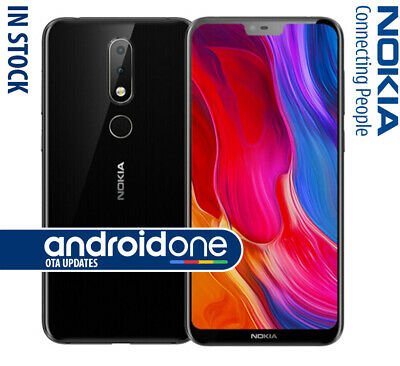 """Nokia 6.1 PLUS  5.8"""" 64GB 6GB 16MP Camera Octa-Core Snapdragon 636 Android ONE"""