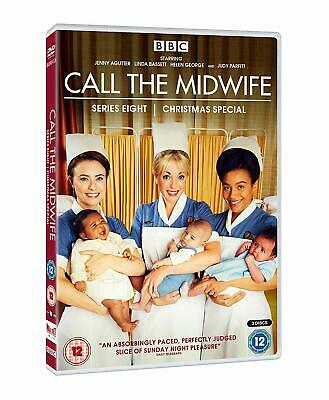 Call The Midwife Series 8 Eighth Season DVD + Extra Features (24 Hrs Delivery)