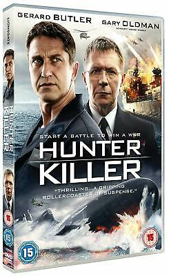 Hunter Killer DVD with Special Features New Sealed Fast & Free 1st Class Post