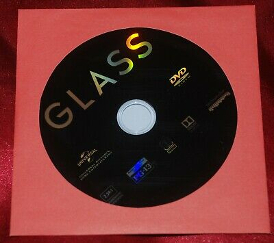 GLASS Official US DVD - just opened - Jackson, Willis, McAvoy
