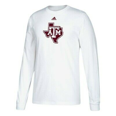 817f16106 Texas A&M Aggies NCAA Adidas Men's White Sideline
