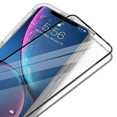 UNBREAKcable iPhone XR Full Coverage Screen Protector - [Easy Installation Frame