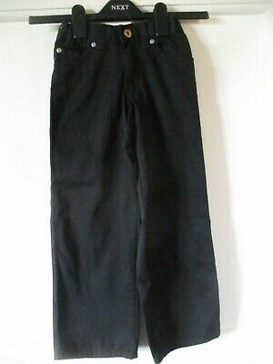 NEW  Girl 2 Girl age 6 girls black  cotton  trousers adjustable  height 117 cm