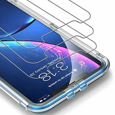 UNBREAKcable iPhone XR Screen Protector [3-Pack] - 9H Hardness Tempered Glass fo