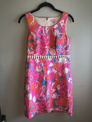 55b20d1eaea3af PRE-OWNED LILLY PULITZER Whiting Dress Feeling Tanked Size M Medium ...