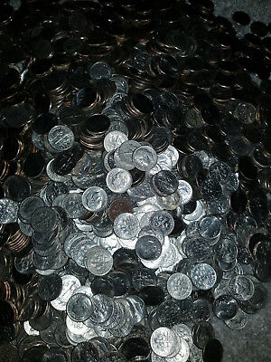 USA: $20 Dollars in 10 cent (dimes) coins, USD 200 x 10 Cents.