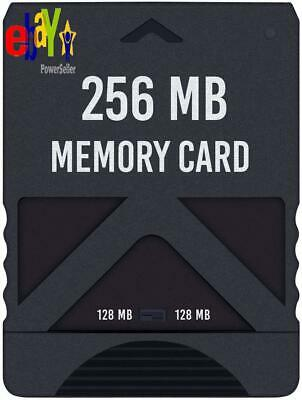 Hde Memory Card For Ps2 256Mb High Speed Storage For  Playstation 2 Consoles