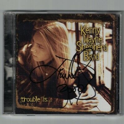 Autographed! Trouble Is... by Kenny Wayne Shepherd Band (CD-1997) US