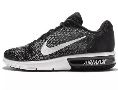 NEW NIKE AIR MAX SEQUENT 2 Men's Sneakers Size 13 Black