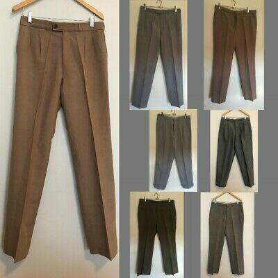 Bulk Lot: 7 x Mens Vintage Pants/Slacks. Wholesale for Resale. 1970s 80s 90s.