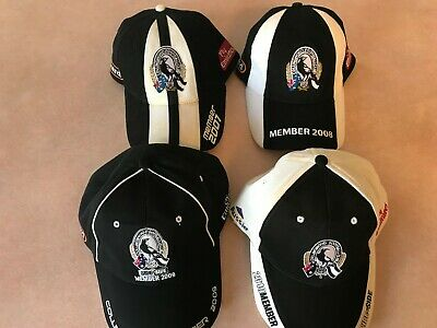 Collingwood Member Caps. Used Condition