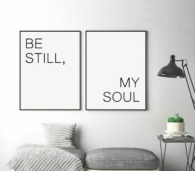 Paintings Wall Canvas Posters For Home Living Room Decor Motivational Quote Art