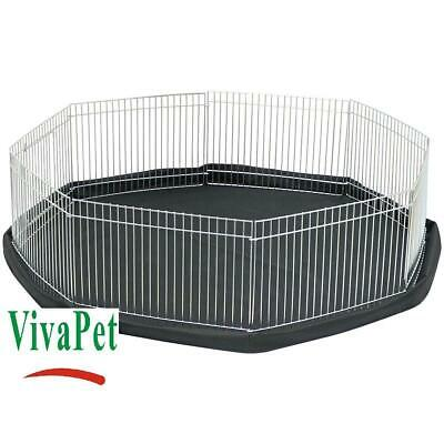 Play Pen Cage For Small Pet Rabbit Puppy Kitten Guinea Pig Hamster Indoor Safe