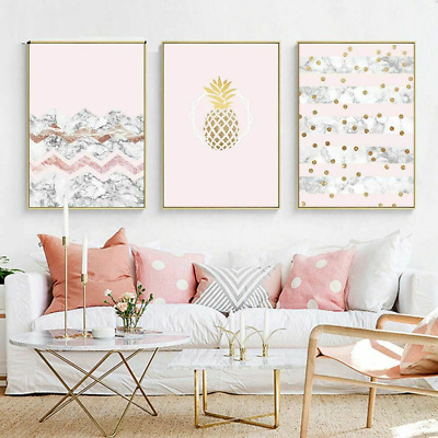 Painting Posters Canvas Abstract Pictures Unframed Modern Wall Decor For Bedroom