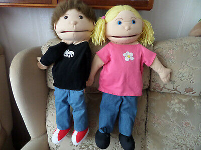The Puppet Company Boy & Girl full size Puppets
