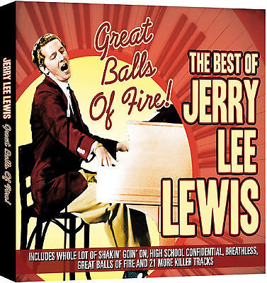 Jerry Lee Lewis - The Best Of - CD - BRAND NEW SEALED GREATEST HITS