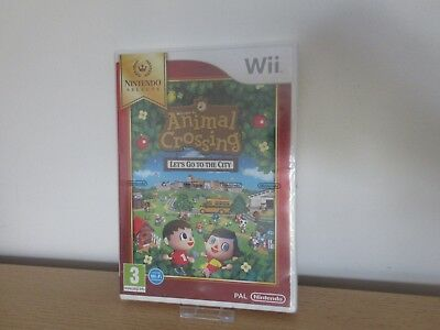Animal Crossing Let's Go To The City Nintendo Wii New & Factory Sealed PAL