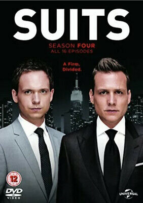 Suits Season 4 DVD Region 2 Megan Markle Duchess Of Sussex New Sealed