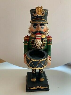 Christmas  Nutcracker Soldier  Candle Holder