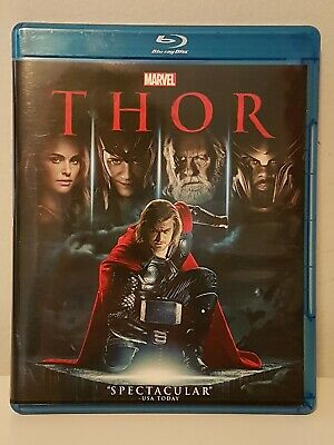Thor Blu-ray Bilingual Marvel Cinematic Universe MCU