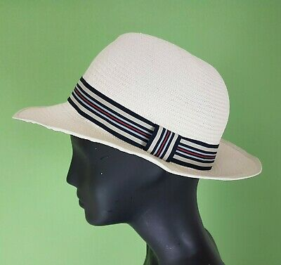 44e2e5d549365c Christies Mens Panama Woven Hat White Rattan Size Large John Lewis Races  Holida