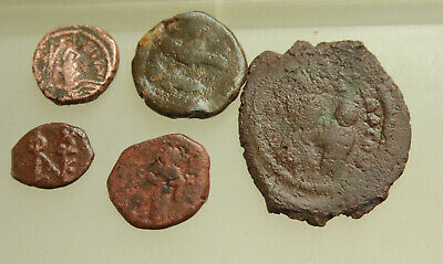 Lot of 5x  Byzantine AE Coins D=15330mm
