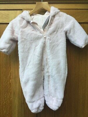 BNWT Marks and Spencer's Unicorn snowsuit/ All in one. Age 3-6 months