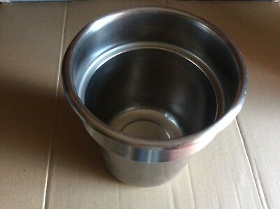 Stainless Steel Inset Pan Usa T304 Nsf 4- 1/8 Qt