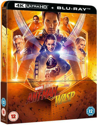 Ant-Man and the Wasp bluray 4K + 2D Steelbook lenticular preorder ZAVVI