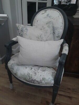 Elegant Boudoir Chair . Hand upholstered . RRP £299.00 .. CHECK OUT OUR PRICES!!
