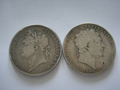 two crowns1820 and 1821