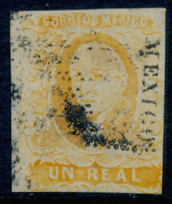 zx03 Mexico #2 1R Mexico early use Sz 826 Cat Paw Losange Cnl. 15pts Est $10-20