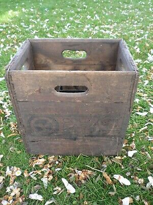 Vintage Wooden Beer Bottle Crate Courage Brewery Courage Barclay Simonds