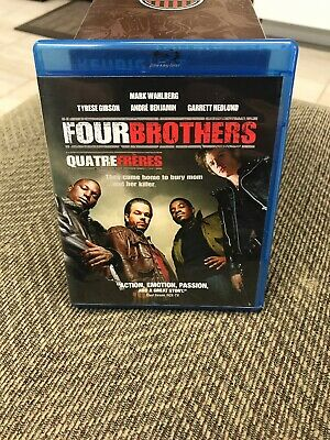 Four Brothers (Blu-ray Disc, 2006) Mark Wahlburg