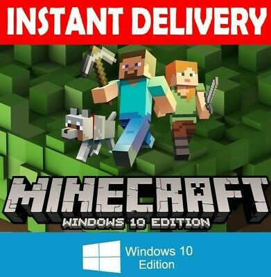 Minecraft Windows 10 Edition 🔥Instant Delivery 🔥1 sec🔥 in your email🔥