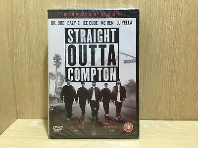 Straight Outta Compton DVD Directors Cut New and Sealed Dr Dre